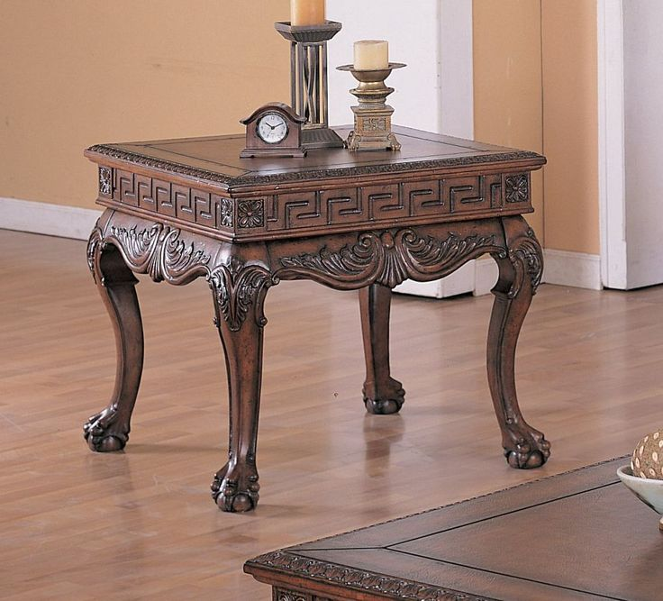 Ball And Claw End Table