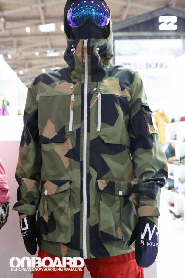 Colour Wear Camo Snowboard Jacket 2014-2015