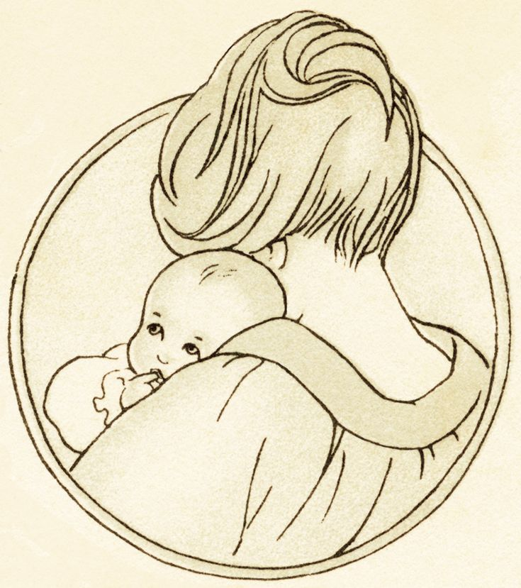 Old Design Shop ~ free digital image: mom and baby