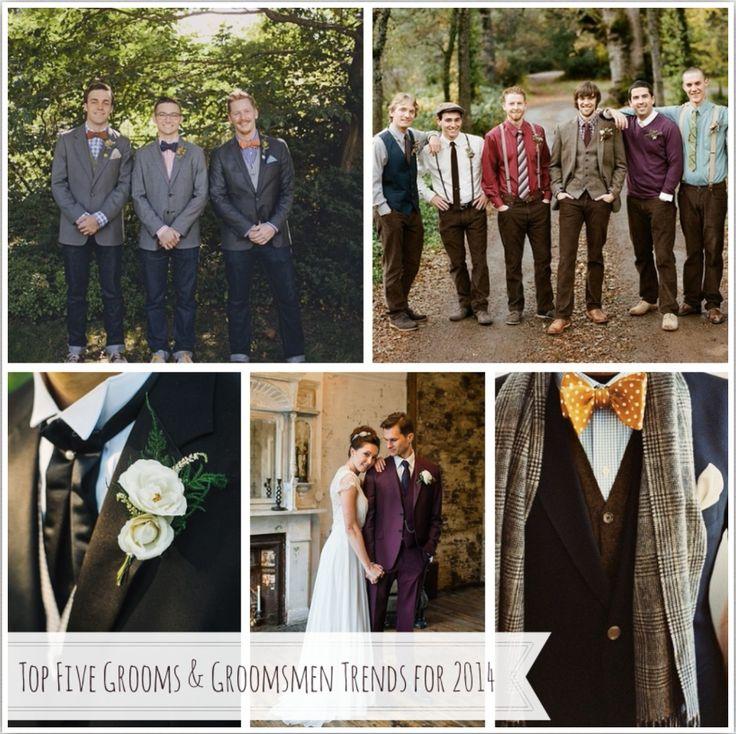 Top Five Grooms & Groomsmen Trends for 2014 from Chic Vintage Brides http://chicvintagebrides.com/index.php/groom-groomsmen/grooms-groomsmen-trends-2014/#more-22869