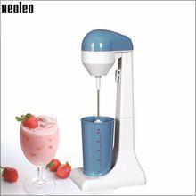 US $85.00 Xeoleo Milkshake machine ABS Milk shaker White+blue/plating 100W Milk Mixer Stirring machine. Aliexpress product