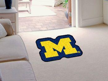University of Michigan Mascot Mat Approx. 3 ft x 4 ft
