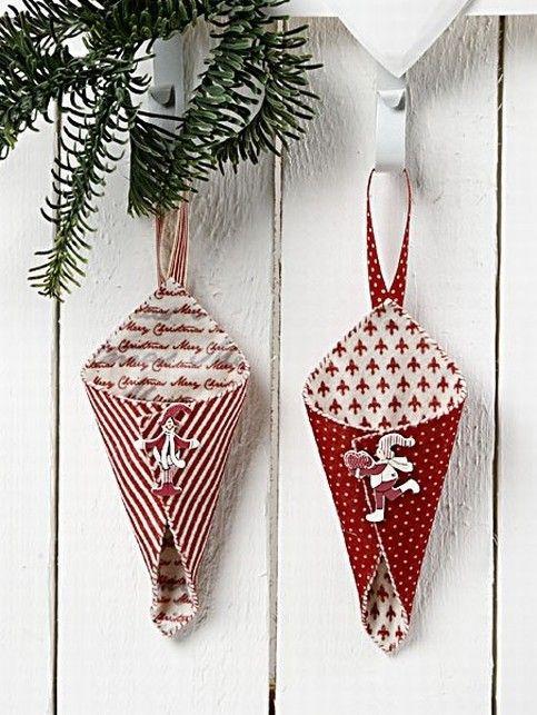 cute: Crafts Ideas, Christmas Crafts Deco Snacks, Christmas Red, Christmas Snow Wint, Design Filt, Gade Felt, Christmas Ornaments, Christmas Игрушки