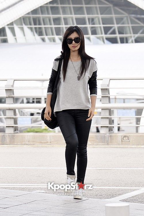 snsd yuri airport fashion airport fashion pinterest