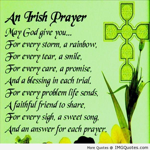 Irish blessing thank you god pinterest patrick o for Funny irish sayings for st patrick day