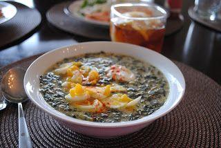 Невыразимая легкость кулинарного бытия...: Суп из шпината с йогуртом