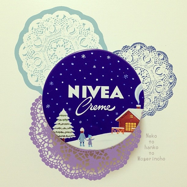 NIVEA CAN #nivea #packaging #advertising