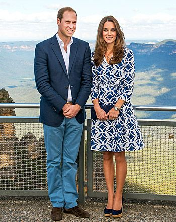 """Kate Middleton, Prince William """"Giggle"""" During Air Force Visit On Tour - Us Weekly"""