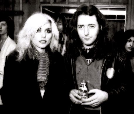 Debbie Harry and Rory Gallagher