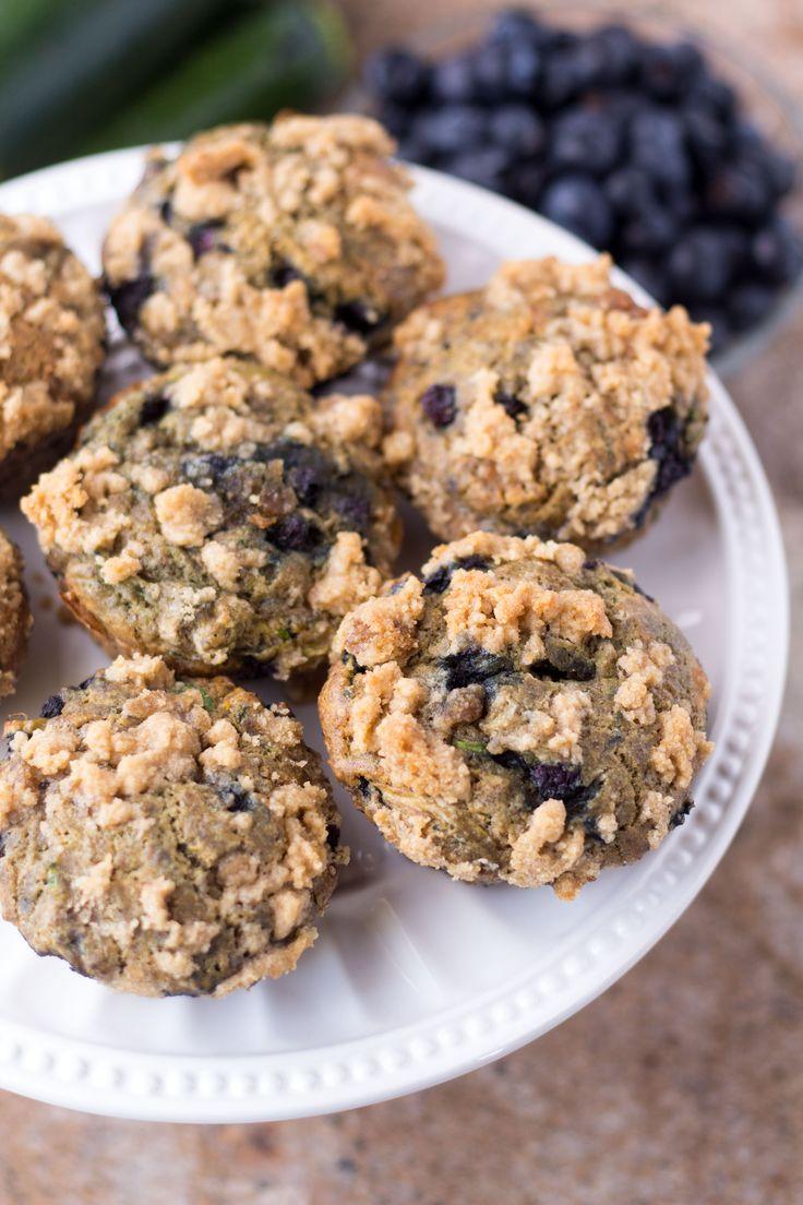 Blueberry Zucchini Muffins – Dan330