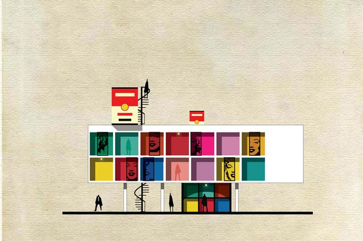 If famous artists lived in their own works, it could look something like Federico Babina's Archist series, which turns famous pieces of art into architectural structures. Babina, who is both an...