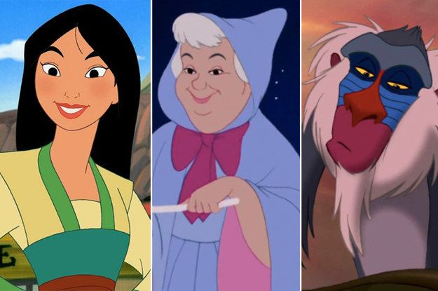 Which Three Disney Characters Are You A Combination Of Disney