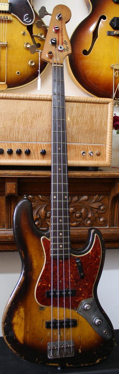 1960 Fender Jazz Bass ALL ORIGINAL...hmmmmm....$25K?...$30K?... either way, more…