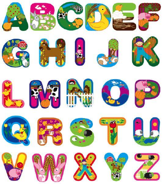 farm animal alphabet coloring pages - photo#35