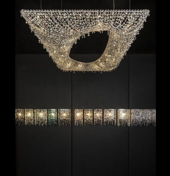 Stunning chandeliers from Manooi