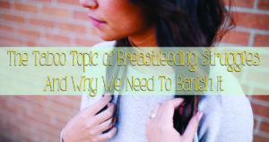 Breastfeeding Sucks. The struggles of those moms that don't fit the ideal mold. And the dangers of the pressure.