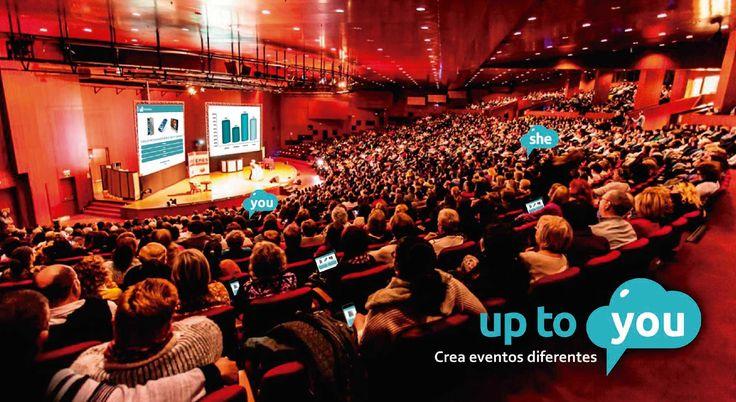 #uptoYou está preparada para cualquier tipo de evento. Cuanto mayor sea, mejor resultados obtendrás. #convenciones