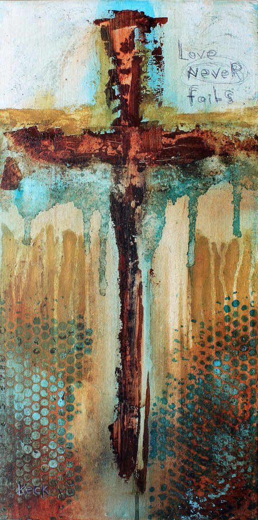 Best 25 cross art ideas on pinterest pallet cross for Cross paintings on canvas