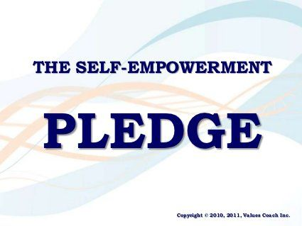The Self-Empowerment Pledge