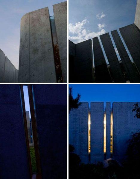 modern cast concrete exteriorr