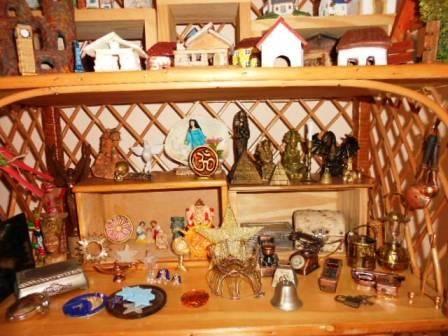Coleção de miniaturas para Jogo de areia (parte)