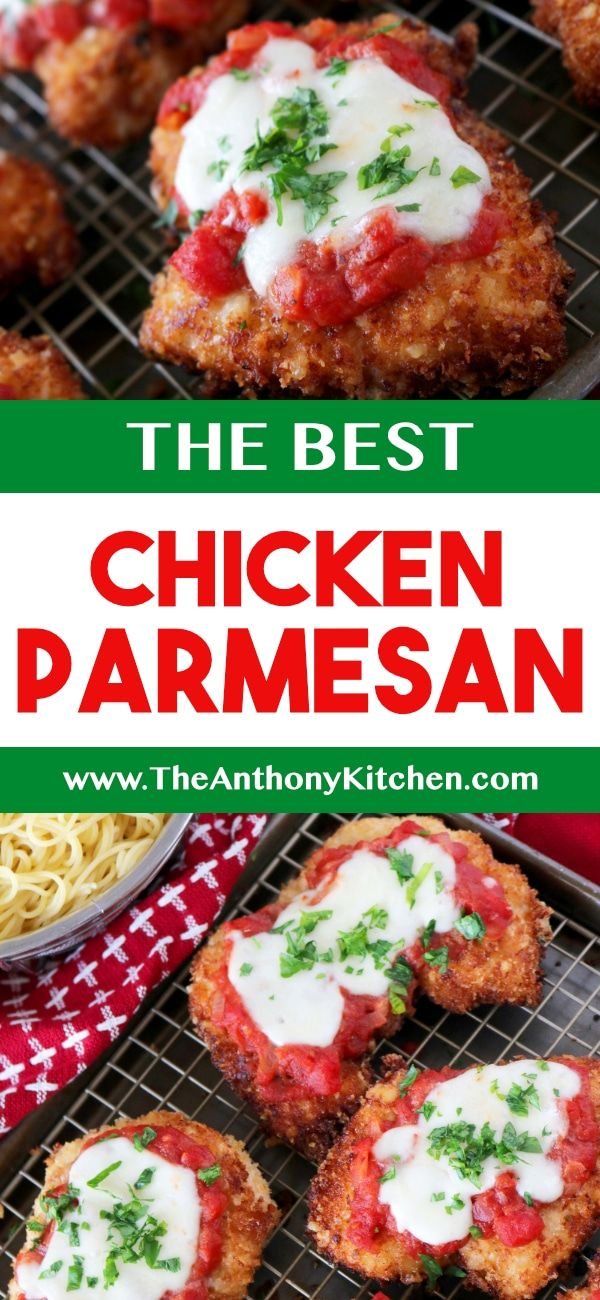 Best Chicken Parmesan Recipe The Anthony Kitchen S Big Pin Board