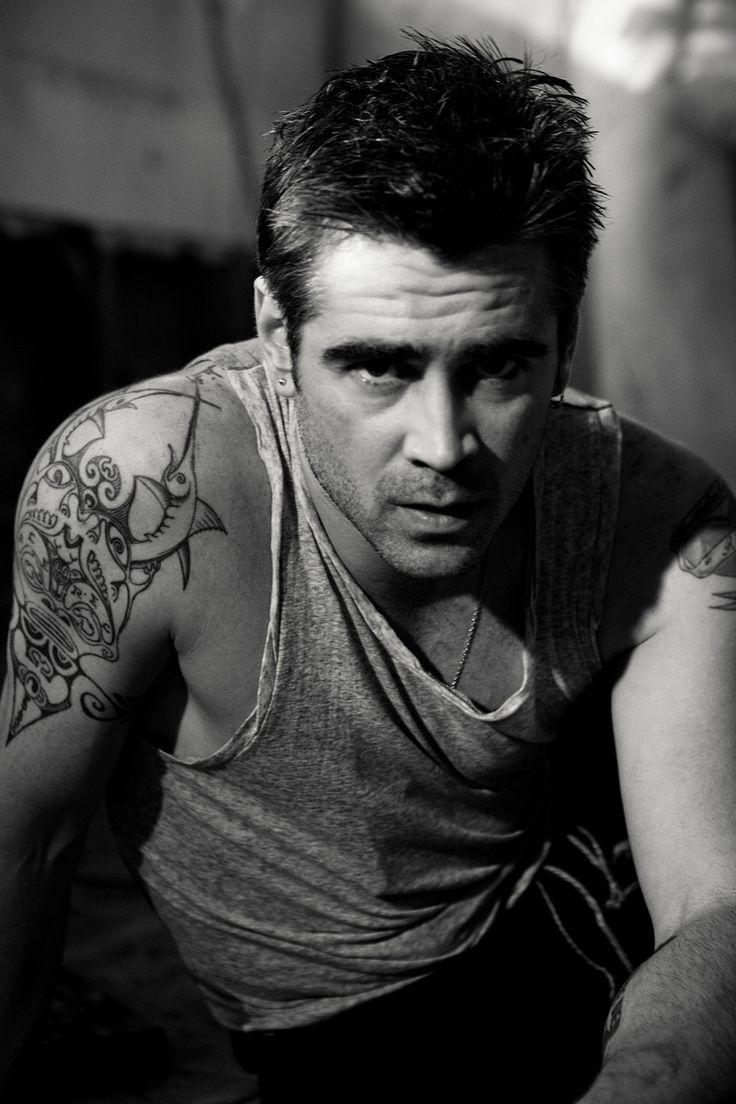 Colin Farrell by Michael Muller #photographers