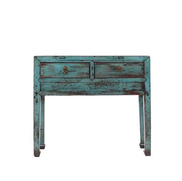 The Importer - Antique Blue Small Console  www.theimporter.co.nz