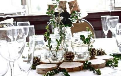 Centrotavola invernali - Rametti e legno pr centrotavola