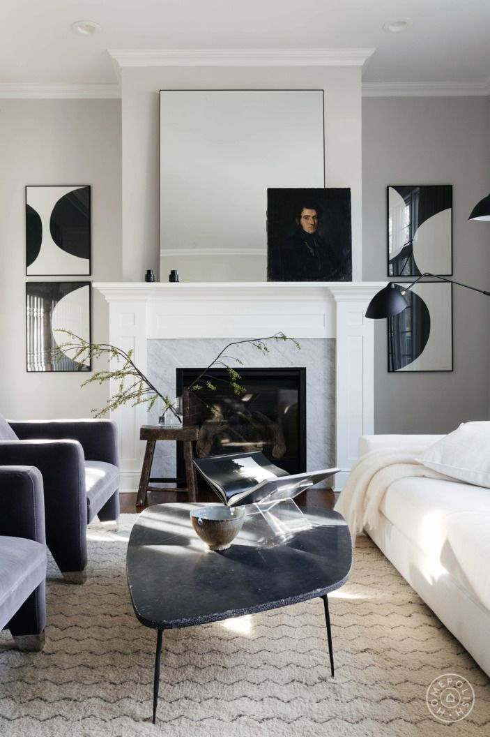 One Family S Double Design Journey Eclectic Living Room Living