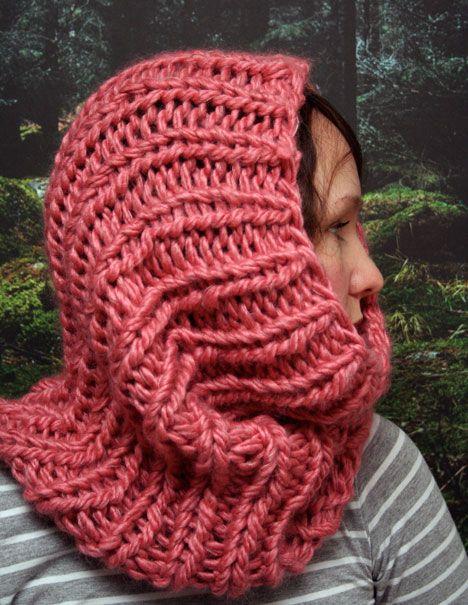 Knitting Cowl With Circular Needles : Quick cowl free knittiing pattern pickles circular