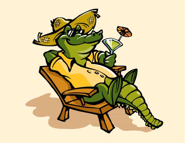 Cartoon Alligator | Cartooning | Pinterest | Cartoon, The ... - photo#12