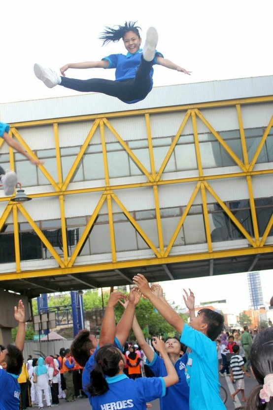 cheerleader Performance