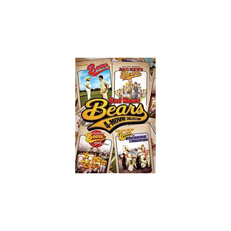 Bad News Bears 4-Movie Collection (Dvd)