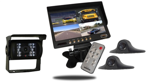 7'' Ultimate RV Backup Camera System (3 Cameras) Split Screen Systems - TadiBrothers Reviews