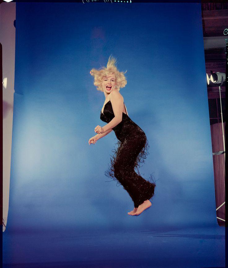 "Marilyn Monroe------Philippe Halsman ""Astonish Me!"" - Jeu de Paume"