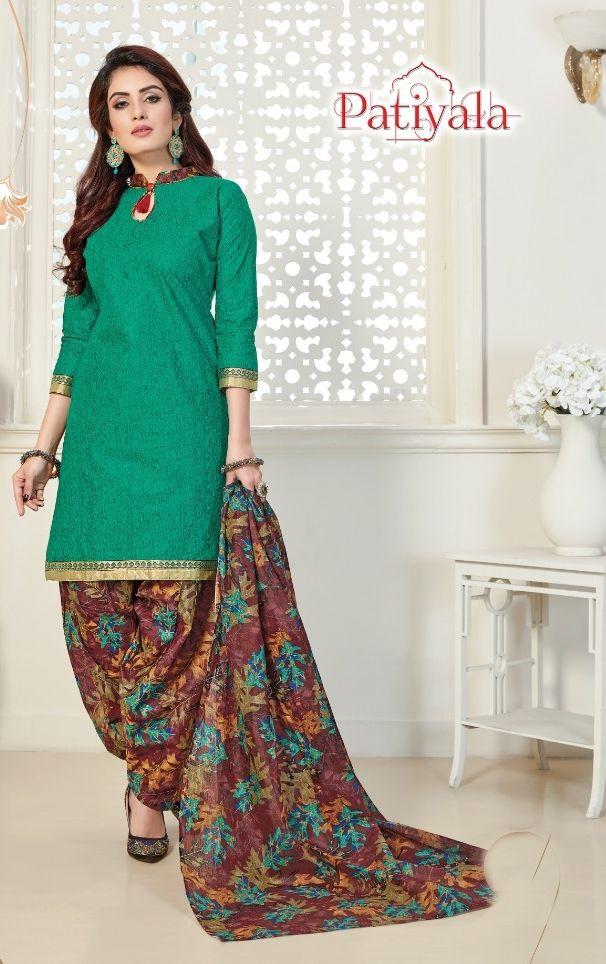4f29501001 Ganesha Prints Patiyala Vol 12 Regular Wear Printed Cotton Dress Material  Wholesaler Surat. Find this Pin and more on Pakistani Salwar Kameez ...