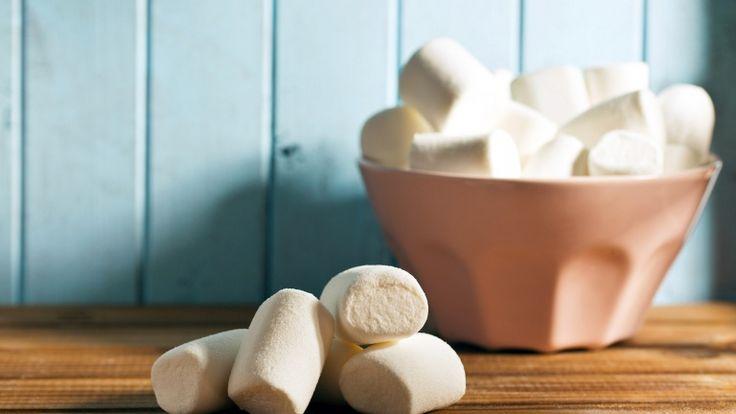 Marshmallow, ricette con i marshmallow, panino con banane marshmallow e banana