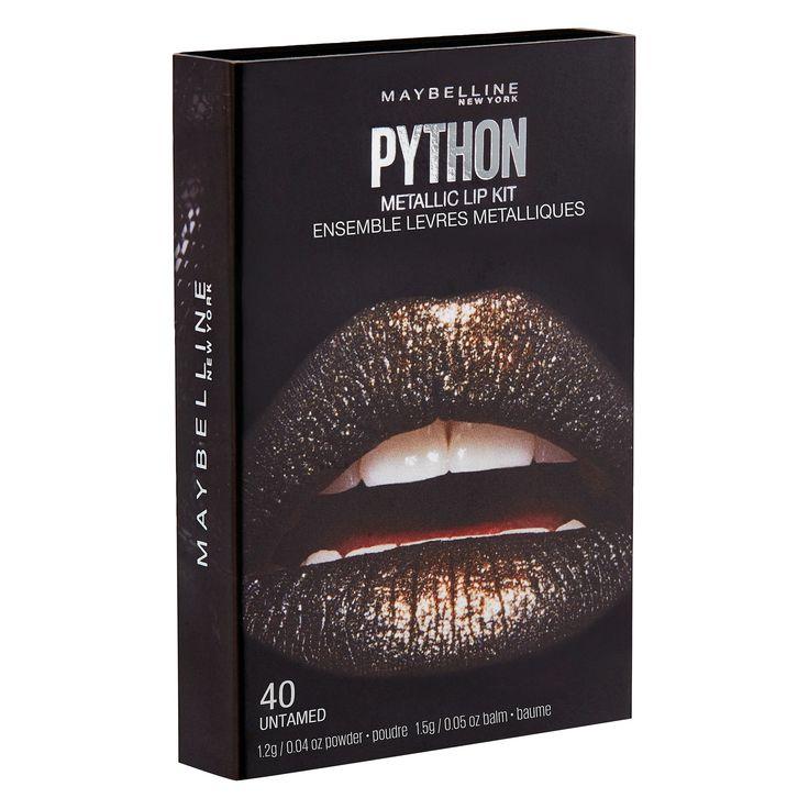 Maybelline Lip Studio Python Chrome 08 Shade 8 0.08 oz, Gold