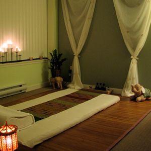 Space for Thai Massage, Yoga or Meditation.