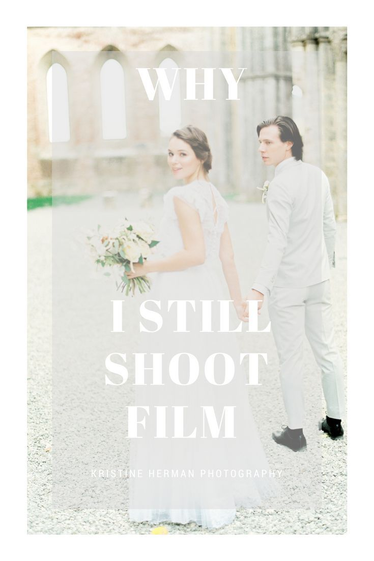 wedding film photographer Kristine Herman describes why she shoots film for her weddings. Why I shoot film.