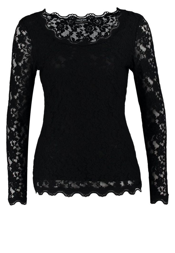 black lace longsleeve shirt <3