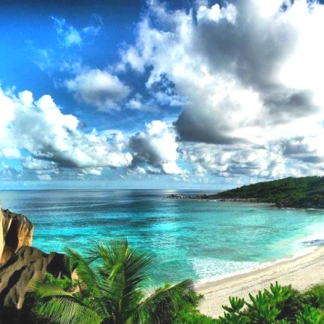 Seychelles Islands, Indian Ocean.  Indescribably beauty.