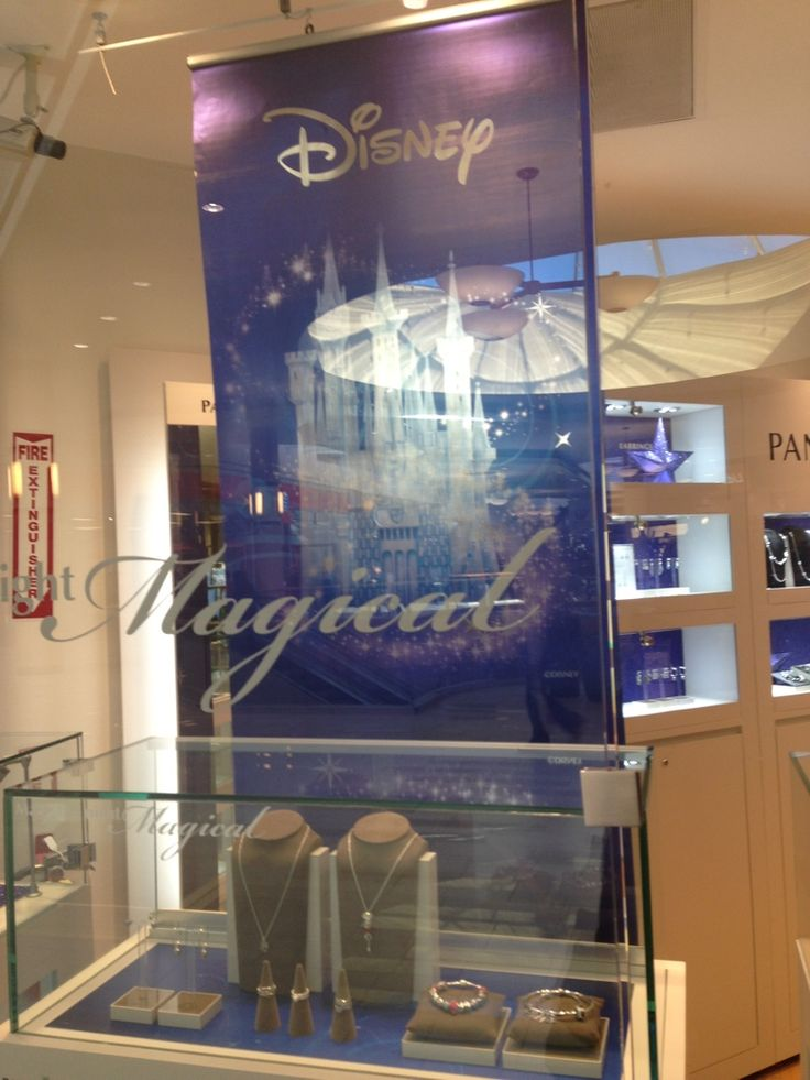 Retail display graphics featuring Blox-Lite® Chrome