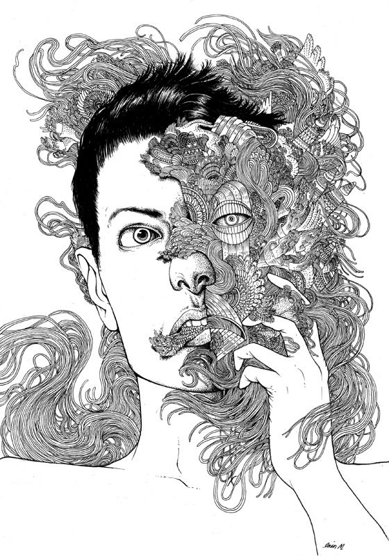 Transformation by iain macarthur, via Behance
