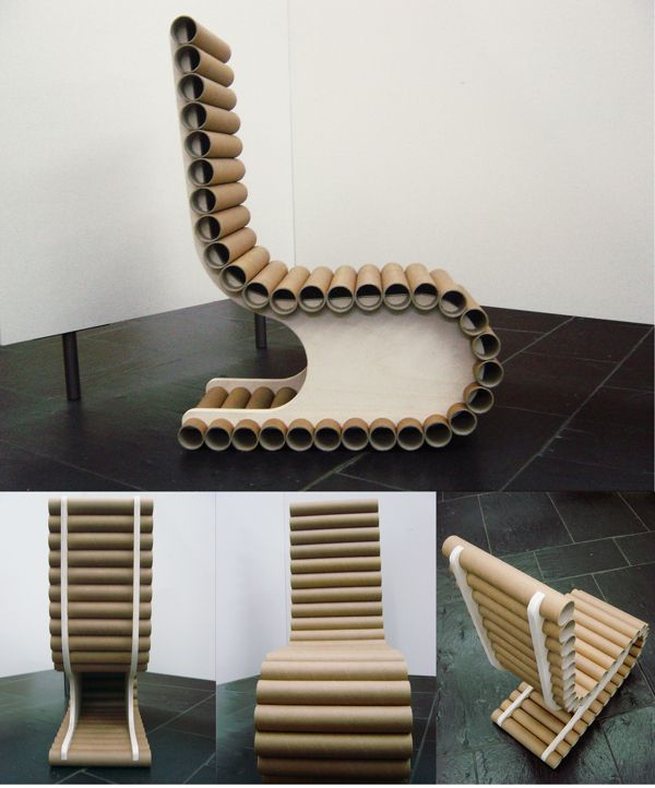 TOOB - Recicled Chair by Susana Reis, via Behance