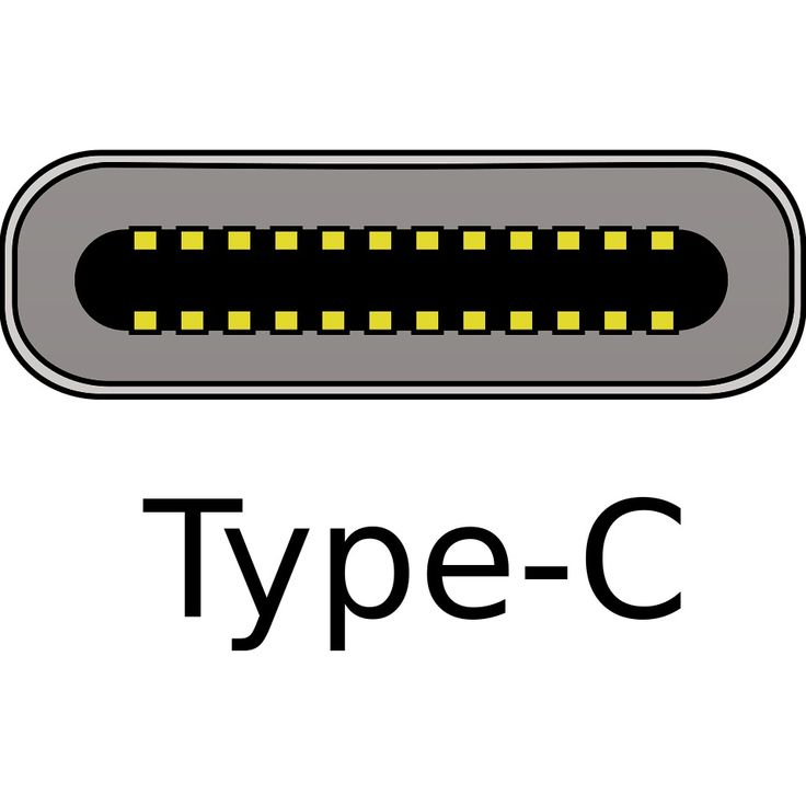 USB-C is a 24-pin fully reversible-plug USB connector system allowing transport of data and energy.  https://en.m.wikipedia.org/wiki/USB-C