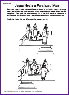 35 Best Images About Jesus Heals The Paralytic Man On