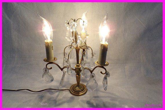 Girandole Vintage France Vintagefr Lamp Tassels For Bronze Ovnm80wN