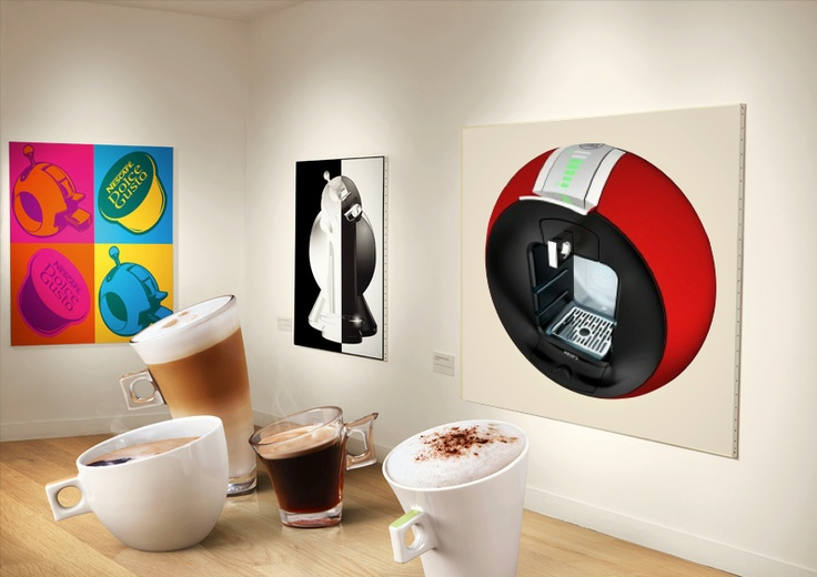coffee can be art nescafe dolce gusto thailand product. Black Bedroom Furniture Sets. Home Design Ideas